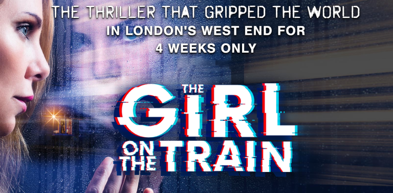 Girl on the Train London banner