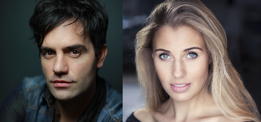 headshots of Karimloo and Schoenmaker