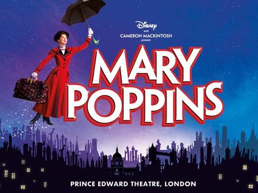 Mary Poppins London promo image