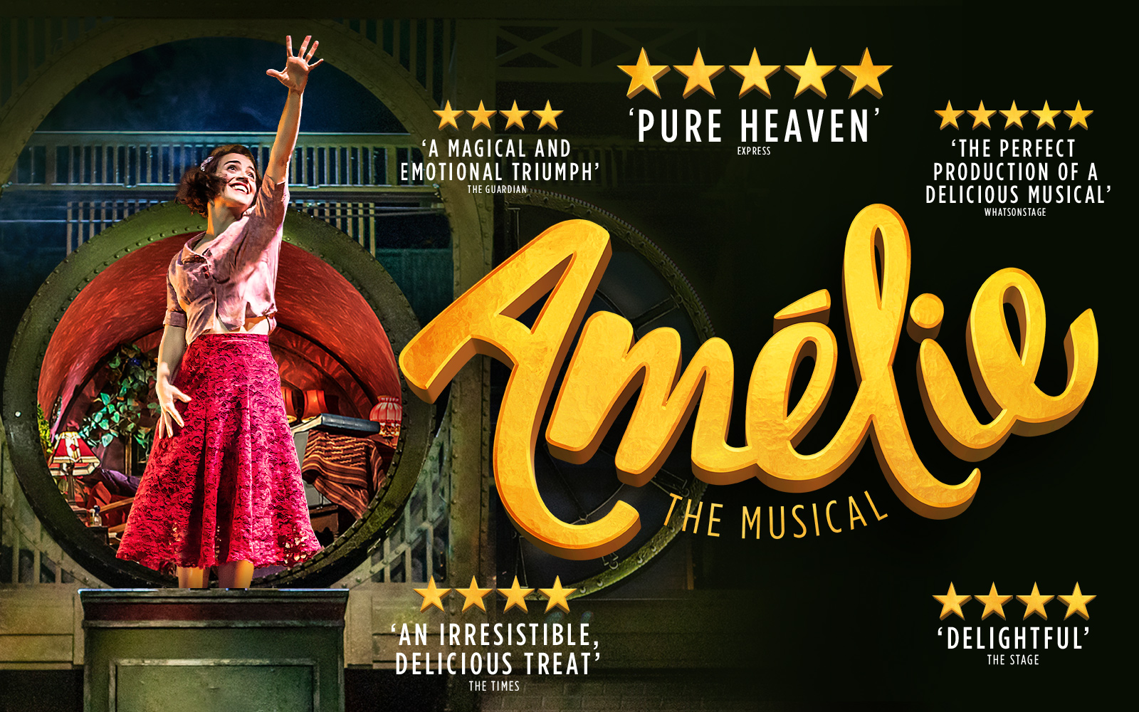 Amelie at The Other Palace promo image