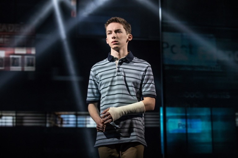 Production still from Dear Evan Hansen Broadway