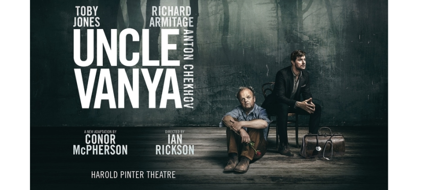 London Theatre Weekly Round-up: Toby Jones and Richard Armitage in new Uncle Vanya, Lesli Margherita in Zorro concert, David Mitchell in Upstart Crow on stage, and more!