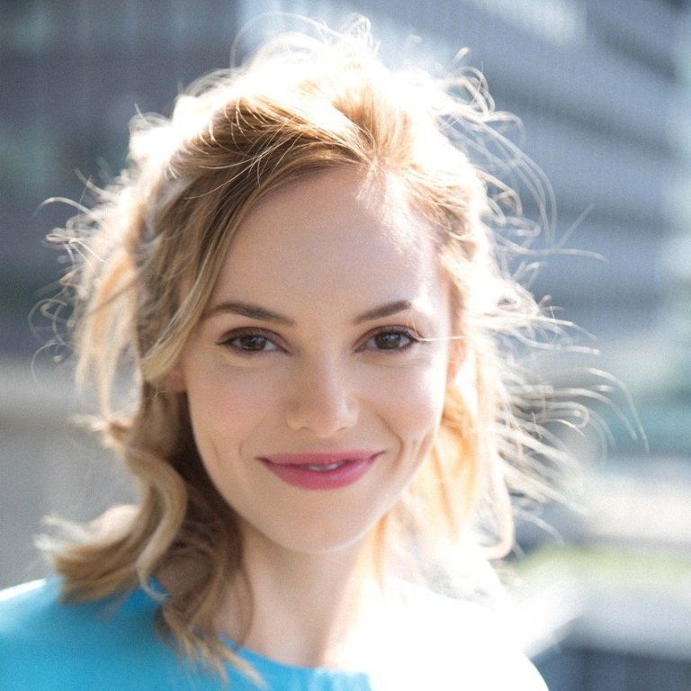 headshot of Hannah Tointon