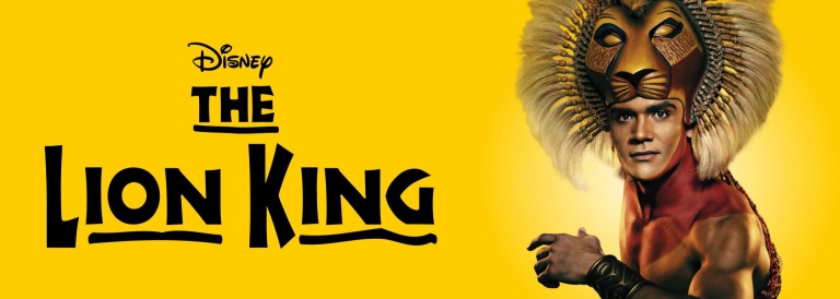 Lion King London banner