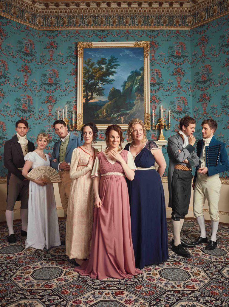 Austentatious cast