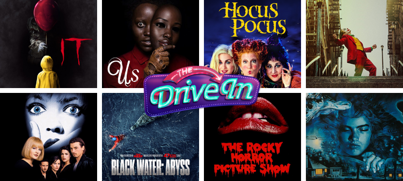 What's playing at The Drive In cinema in London thisHalloween